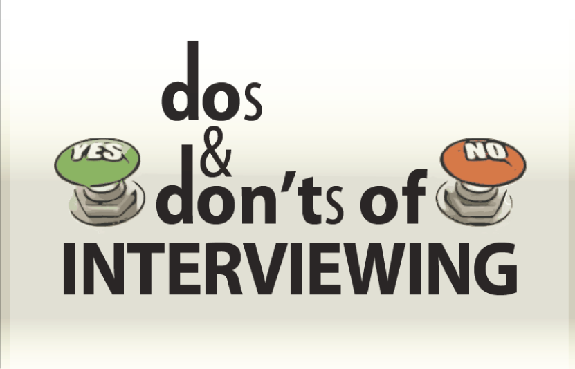 interview dos and donts
