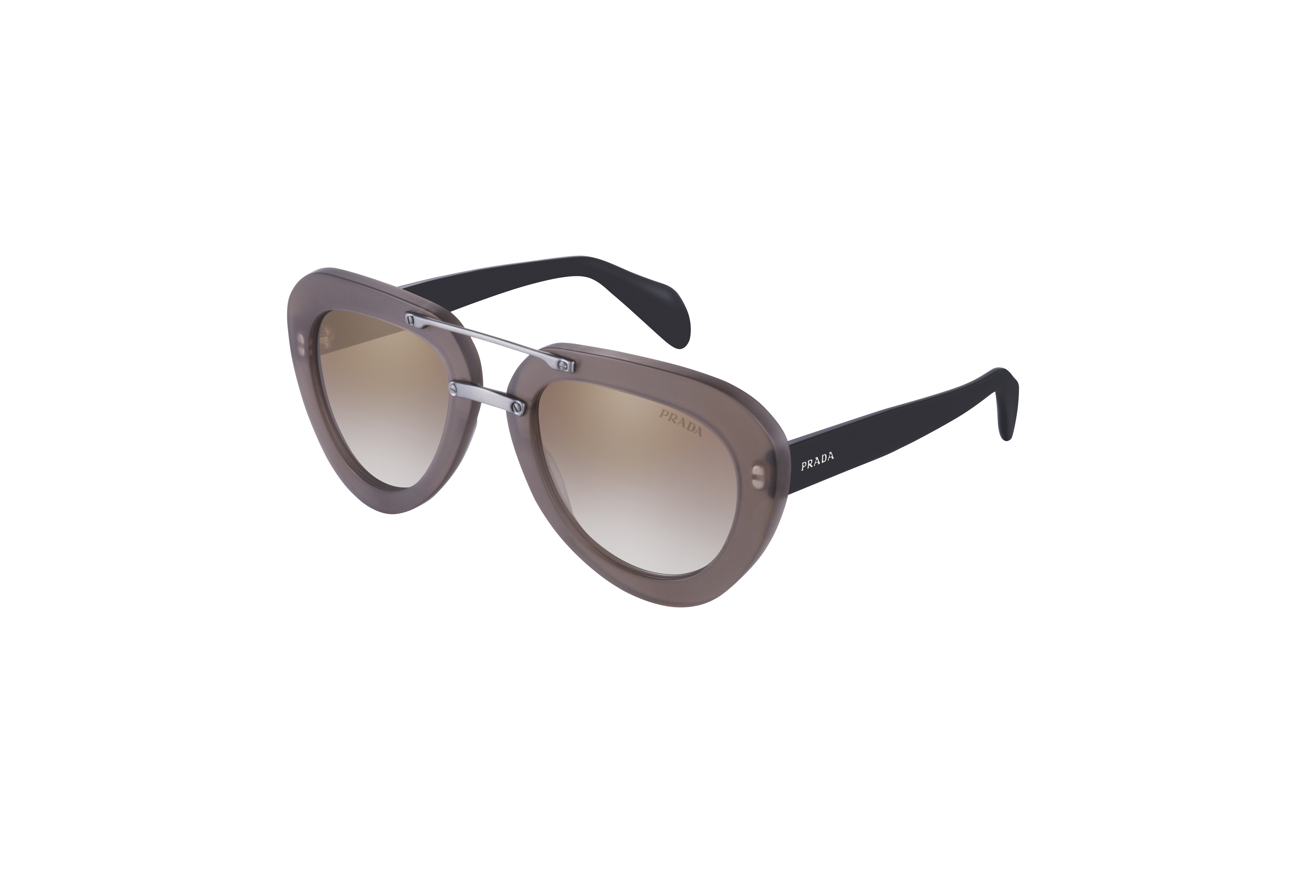 prada blue personality glasses