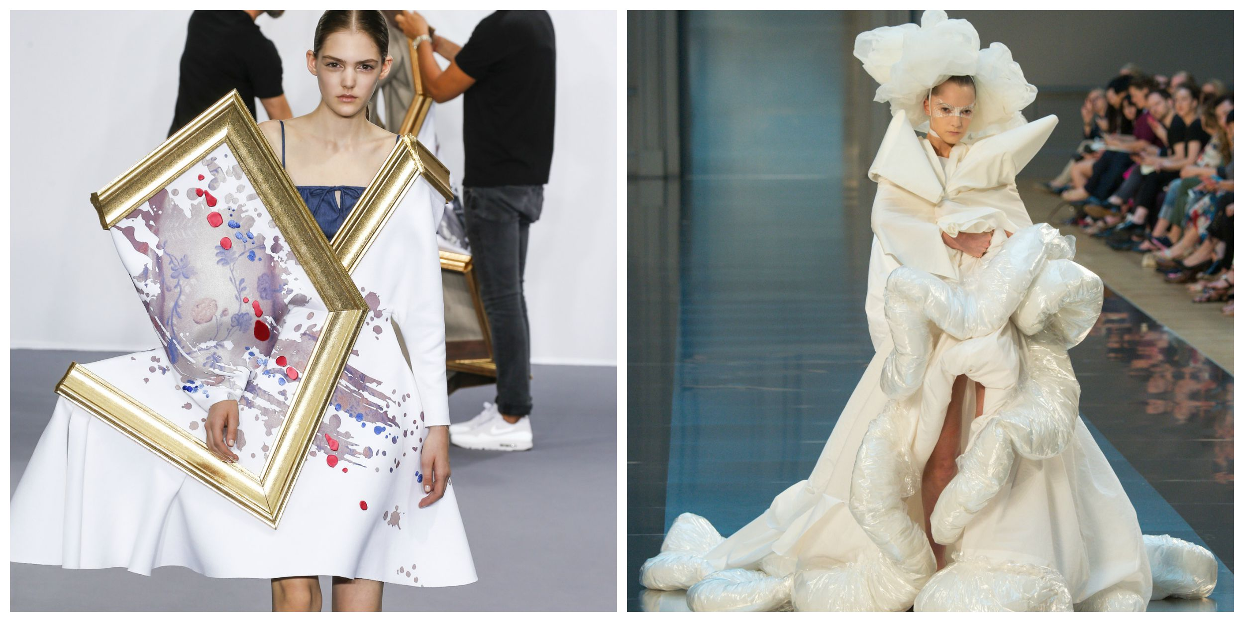 Weird dresses from haute couture fashion week that will for High fashion couture