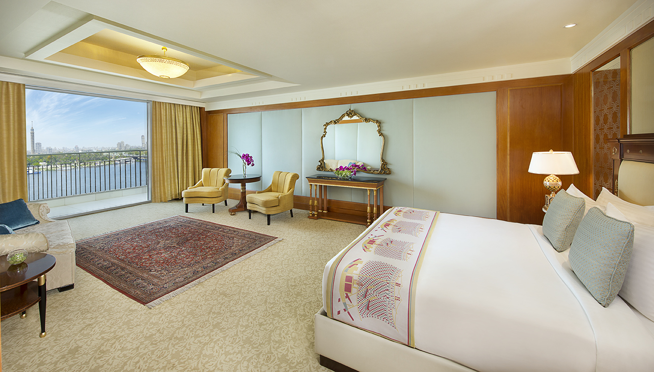 Reservations open at the nile ritz carlton cairo for Construction suite online