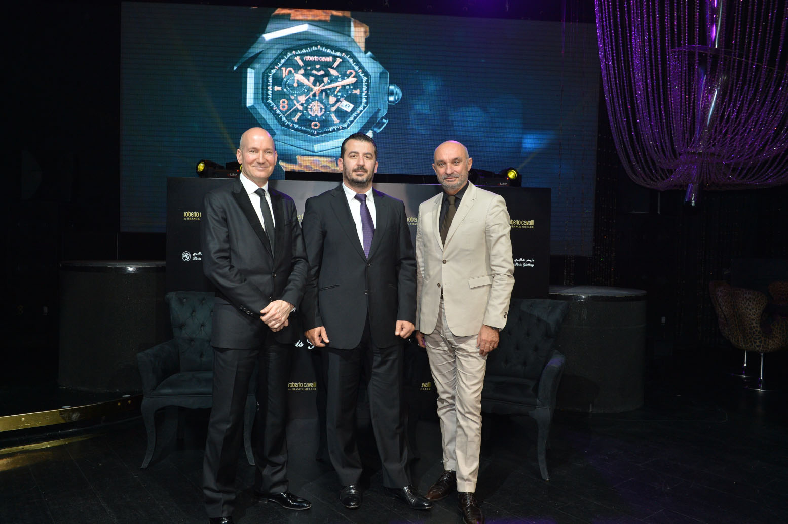 Paris Gallery Launches Roberto Cavalli by Franck Muller | Identity ...