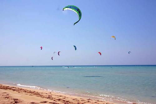 Ras Sudr kite surfing sinai egypt