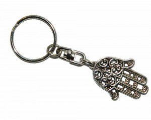 Vintage-Silver-Hamsa-Hand-Charms-Key-Chain-For-Car-keys-Key-Ring-Men-keychain-Brand-Fashion