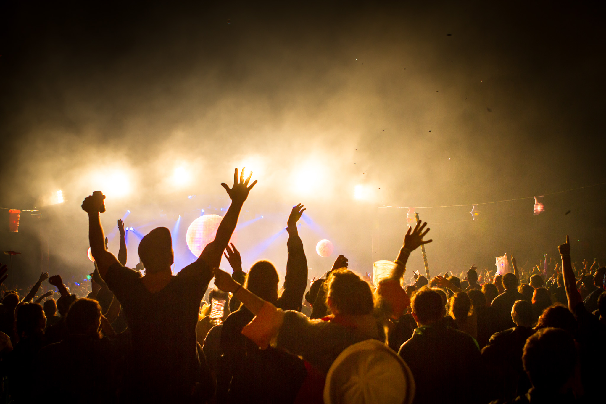 how to work for music festivals