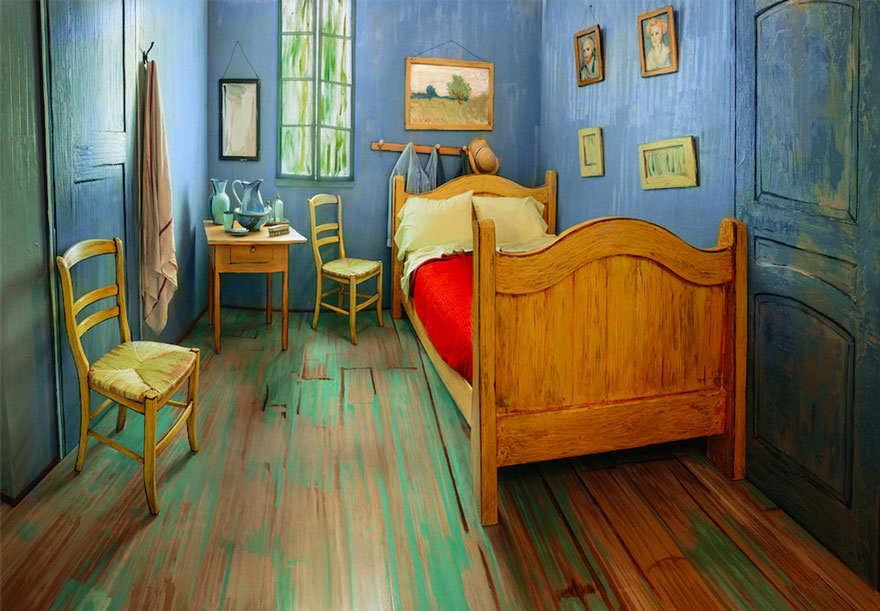 van-gogh-room-airbnb-art-institute-chicago-4