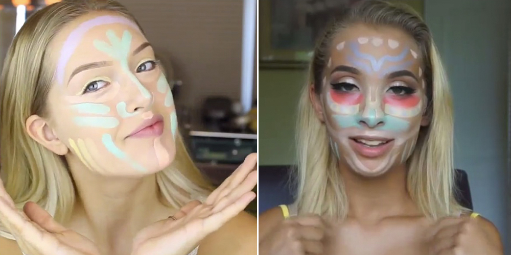 How To Use A Concealer Palette Colour Correcting