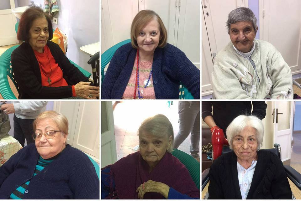 Women of Dar ElSayeda Mariam ElAzraa elderly home