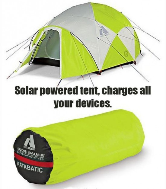 Solar Powered Tents