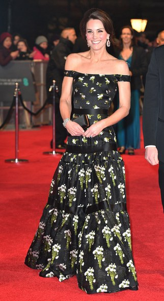 baftas-2017kate-middleton