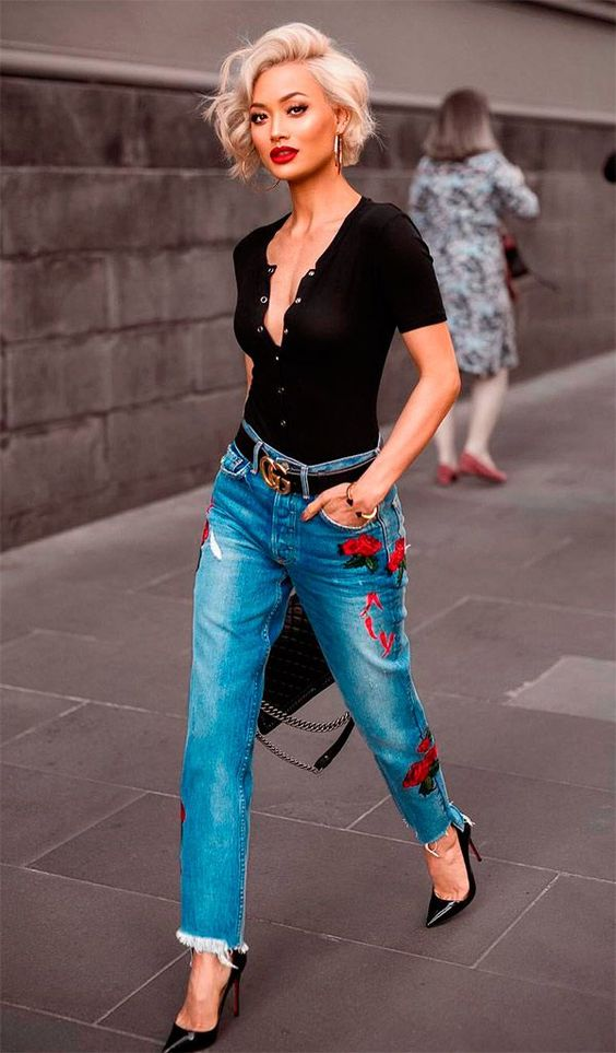 7. Bold Pants