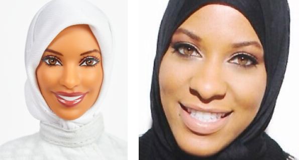 Ibtihaj Muhammad barbie