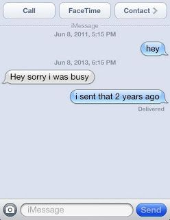 replying after two years text