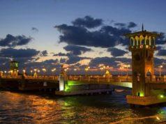 Alexandria in Winter