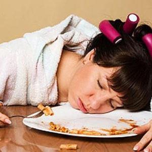 Eating or sleeping