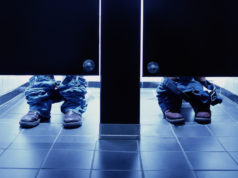 Strange things done in public restrooms