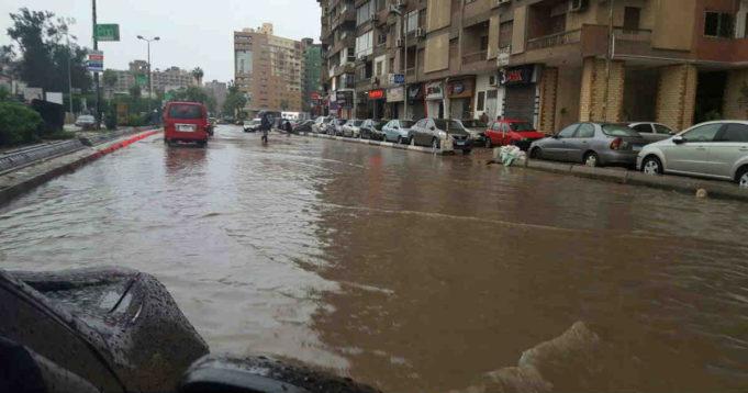 Rain in Cairo