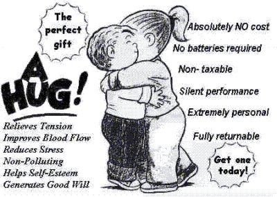 hug benefits