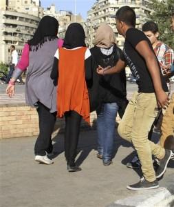 Mideast Egypt Sexual Harassment