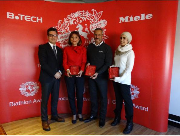 Alia Khattab (Brand Business) & ManagerSuzan Kheireldin-Scheffen (Chief Marketing Officer)