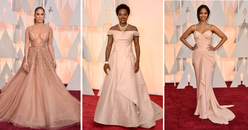 Oscars red carpet trend: Neutrals
