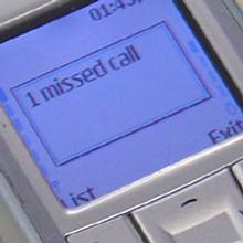1 missed call