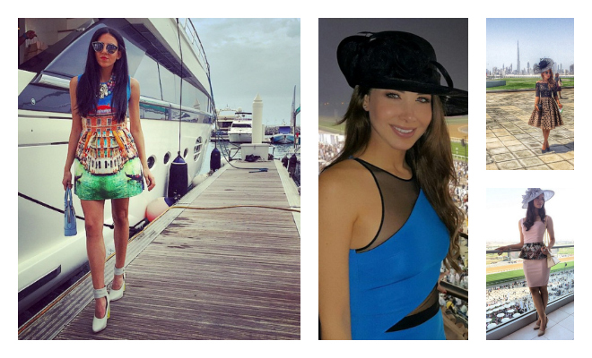 Best 10 fashion instagrams from Dubai World Cup