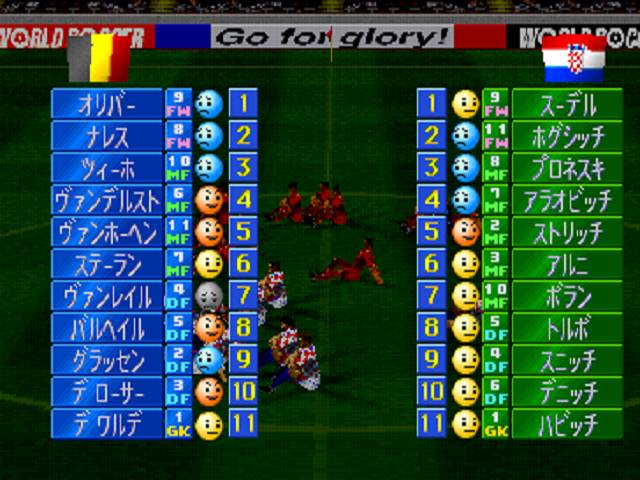 Winning Eleven 3 playstation 1
