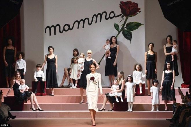 Dolce Gabbana MFW day 5