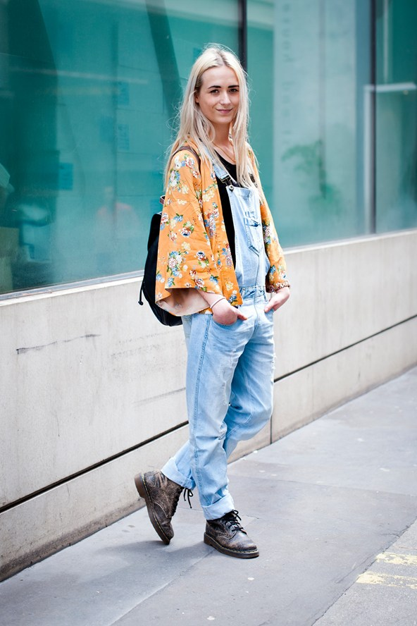 how to wear a kimono and jeans