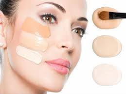 dark foundation with moisturizer