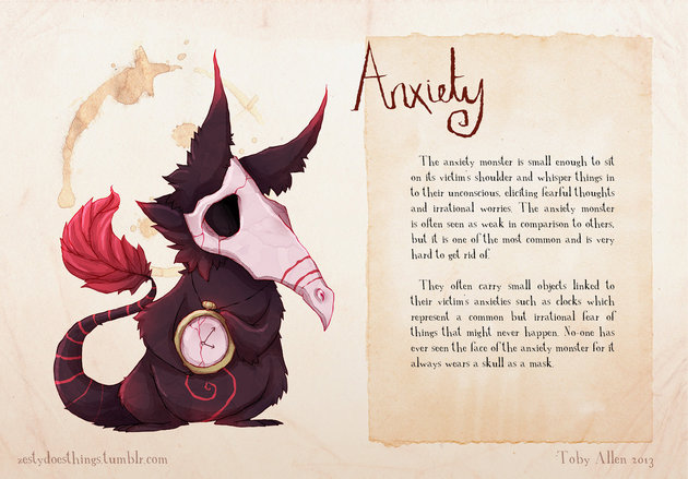 If Mental Illnesses Were Monsters