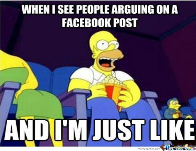 Homer Meme Facebook