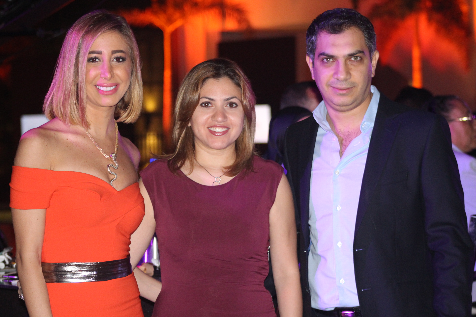 Ms. Hend Reda, Mr & Mrs. Emad Salem