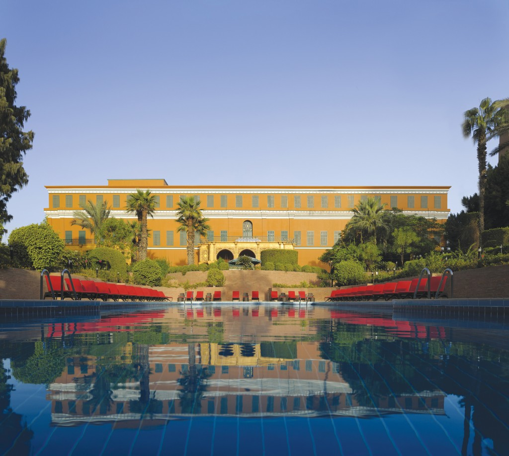 Cairo Marriott Hotel Exterior Palace & Swimming Pool..-1