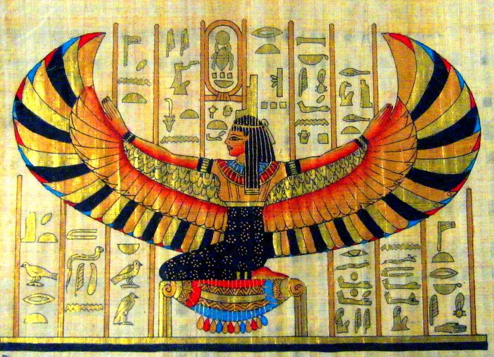 Egyptian horoscope: Isis goddess