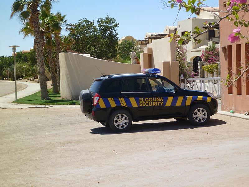 El_Gouna_Security_Car