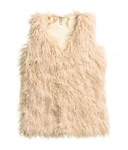 H&M Fur Vest EGP499