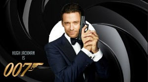 Hugh Jackman James Bond