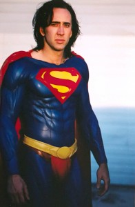NICOLAS CAGE - SUPERMAN
