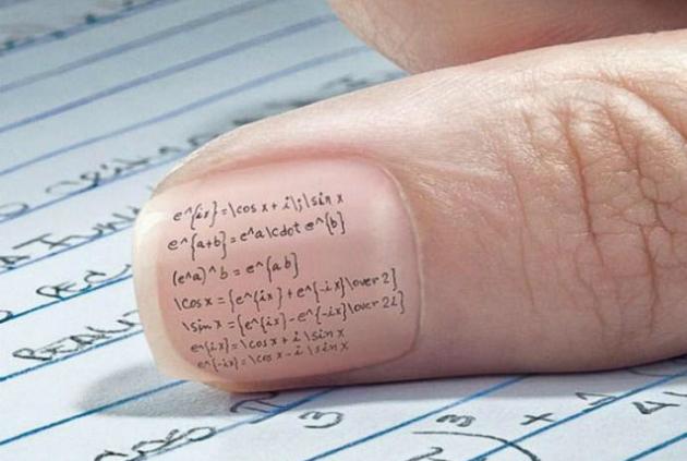 nail exam cheat