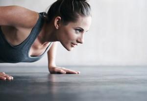 Workout pushup
