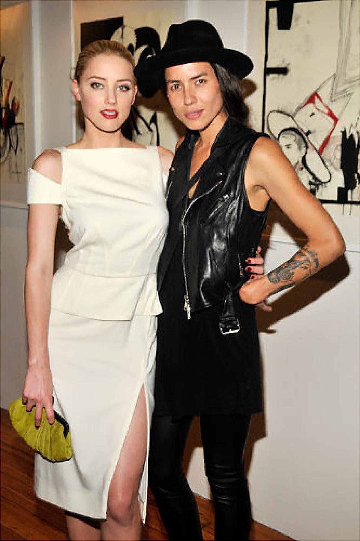 Amber and Domestic Partner Tasya