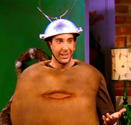 Spudnik costume