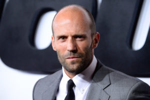 "HOLLYWOOD, CA - APRIL 01: Actor Jason Statham arrives at the Premiere Of Universal Pictures' ""Furious 7"" at TCL Chinese Theatre on April 1, 2015 in Hollywood, California. (Photo by Frazer Harrison/Getty Images)"