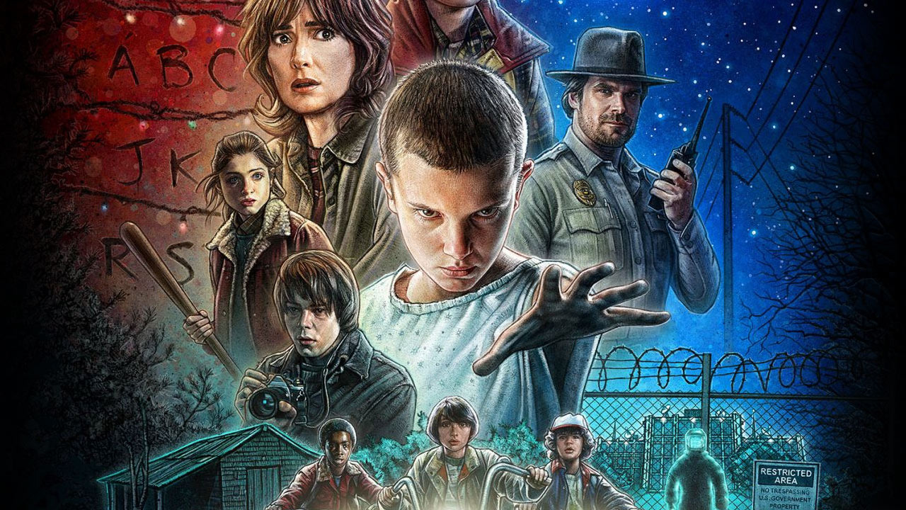 star wars ft stranger things