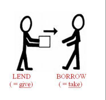 borrowing stuff