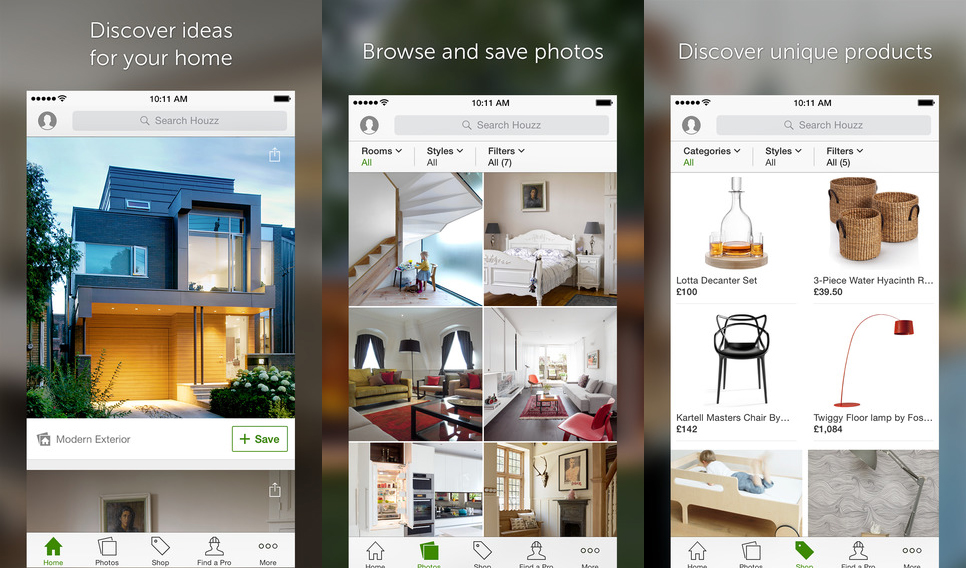 7 must have mobile apps that are life savers identity for Houzz magazine