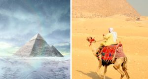Winter, summer, Egypt, cairo