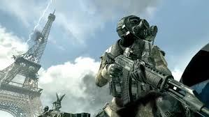 call of duty, modern warfare 3, Eiffel Tower