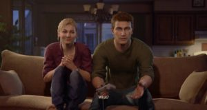 nathan drake, elena fisher, playstation, crash, uncharted 3, video games, 2019